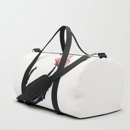 Butterfly on Skeleton Hand Duffle Bag