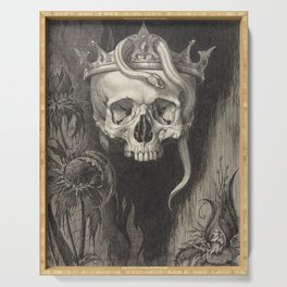 King of the Dead Serving Tray