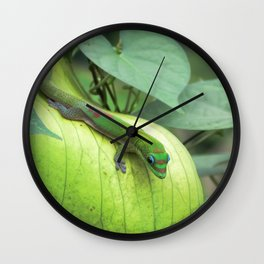 Blending In Wall Clock