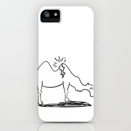 Straw That Broke the Camel's Back Idiom iPhone Case