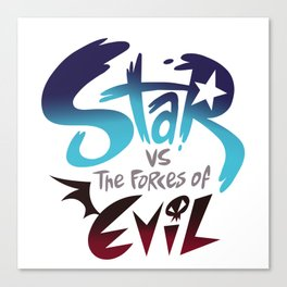 star vs the forces of evil Canvas Print