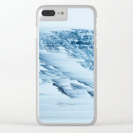 the mountains Clear iPhone Case