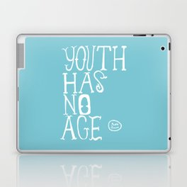 Youth Has No Age (Blue) Laptop & iPad Skin