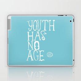 Youth Has No Age (Blue) Laptop & iPad Skin