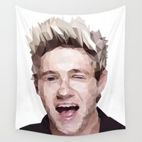 niall Wall Tapestries featuring Niall Horan - One Direction by jrrrdan