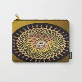 Lion Celtic Knot Mandala Carry-All Pouch