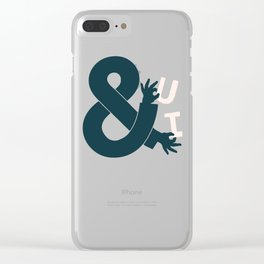 You and I, Ampersand Clear iPhone Case