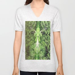 With arms Outstretched Unisex V-Neck