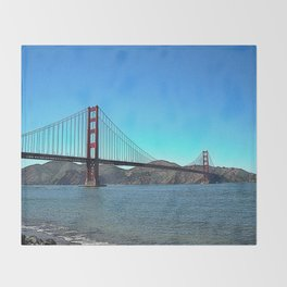 San Francisco Golden Gate Throw Blanket