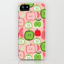 Retro Apples iPhone Case