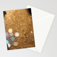 Blue Bokeh  Stationery Cards