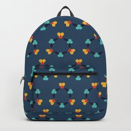 Kaleidescope blue Backpack