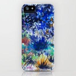 Watercolor wetland landscape iPhone Case