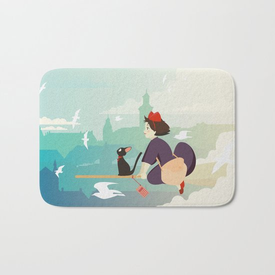 Delivery Service Bath Mat