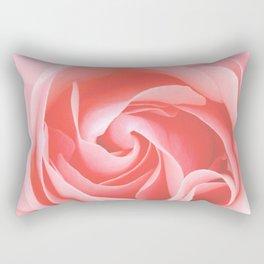 Velvet pink rose - Roses Flowers Flower Rectangular Pillow