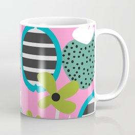 Summer mix in pink and blue Coffee Mug