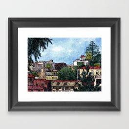 Valparaiso, Chile Framed Art Print
