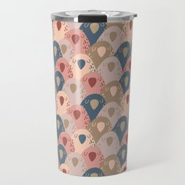 Ovopornis - beige Travel Mug