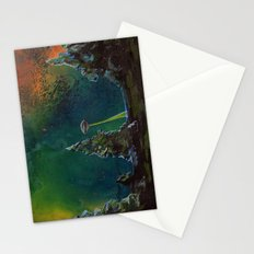 UFO Painting - Searchling -  Stationery Cards
