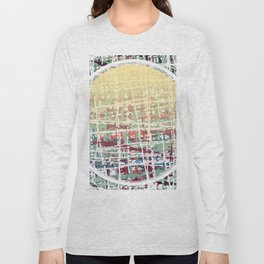 Crisscrossing - circle Long Sleeve T-shirt