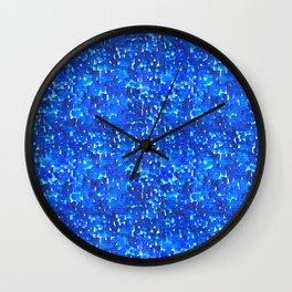 Strong Rain Wall Clock
