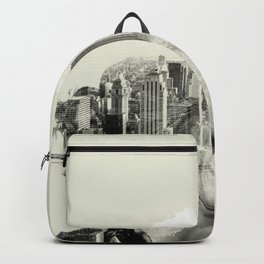 Reflection, New York City Backpack