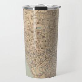Vintage Map of Buffalo NY (1895) Travel Mug