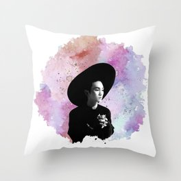 Kim Kibum Throw Pillow