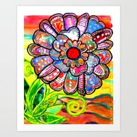 Florem Terrae Bright Art Print