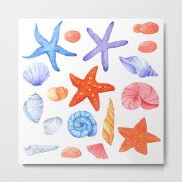 seabed Metal Print