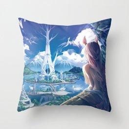 Lilandra Throw Pillow