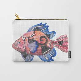 A fishful world of cats and dreams Carry-All Pouch