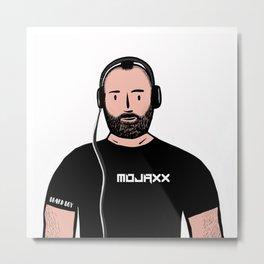 Beard Boy: Mojaxx Metal Print