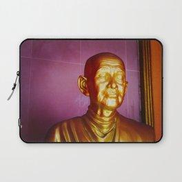 Statue in Ayutthaya Laptop Sleeve