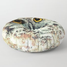 Owl II Floor Pillow
