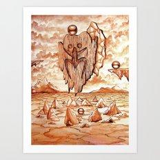 Tribute to the Tainos Art Print