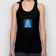 Napping Mr.Hippo Unisex Tank Top