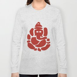 Ganesh - Hindu God Long Sleeve T-shirt