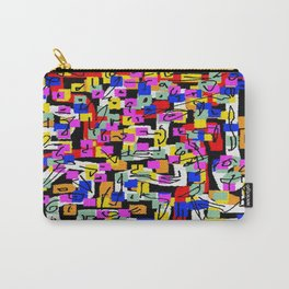 abstract laberinto Carry-All Pouch