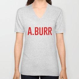 A. Burr Unisex V-Neck