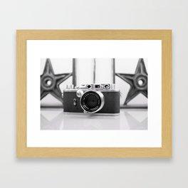 Nicca Rangefinder Camera - 1950s Framed Art Print