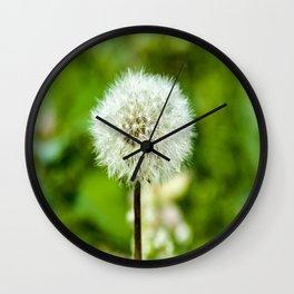 Puff Ball Wall Clock