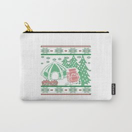Camping Christmas Carry-All Pouch
