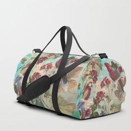 Parrots and Flora Duffle Bag