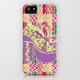 Purple Limelight iPhone Case