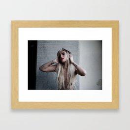 The Listening Framed Art Print