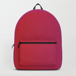 Red And Purple Cute Gradient Pattern Backpack