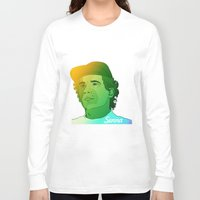 senna Long Sleeve T-shirts featuring Ayrton Senna by Matty723