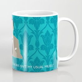 The Empty Hearse - Mycroft Holmes Coffee Mug