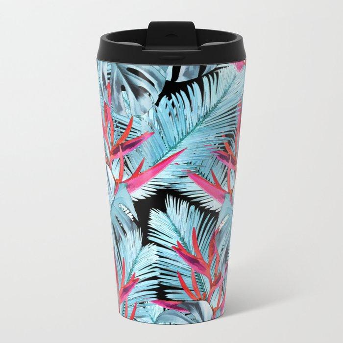 Tropical plants 1 Metal Travel Mug